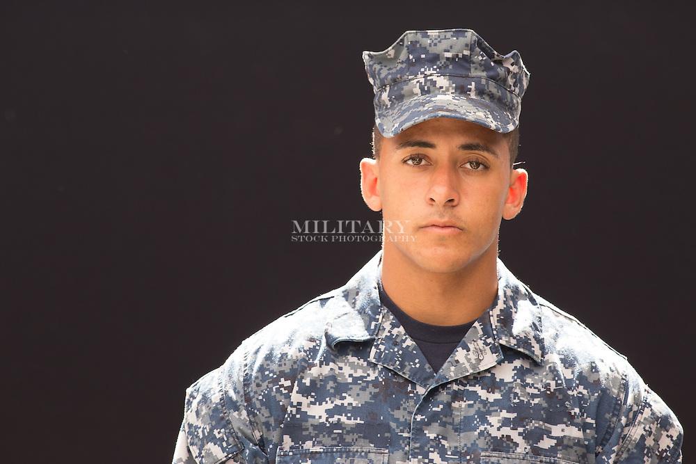 Man, model-released, portrait.