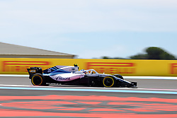 June 22, 2018 - Le Castellet, Var, France - Williams Driver SERGEY SIROTKIN (RUS) in action during the Formula one French Grand Prix at the Paul Ricard circuit at Le Castellet - France (Credit Image: © Pierre Stevenin via ZUMA Wire)