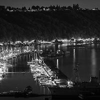 Tacoma bay by night - WA