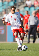 CHORZOW 01/06/2008.POLAND v DENMARK.INTERNATIONAL FRIENDLY.DARIUSZ DUDKA OF POLAND ..FOT. PIOTR HAWALEJ / WROFOTO