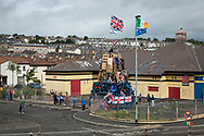 Cathloic Bogside of Derry Ireland
