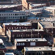 Crossroads District area of Kansas City, Missouri with Southwest Boulevard