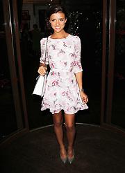 © London News Pictures. Lucy Mecklenburgh arriving at the Easilocks VIP launch, Sanctum Soho Hotel London UK, 09 July 2013. Photo credit: Richard Goldschmidt/LNP