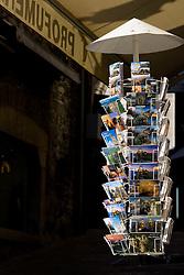 Postcards in San Marino, on October 13, 2009, in San Marino,  San Marino.  (Photo by Vid Ponikvar / Sportida)
