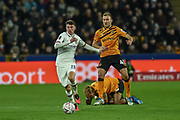 Mason Mount (19) of Chelsea FC and Herbie Kane (41) of Hull City AFC during the The FA Cup match between Hull City and Chelsea at the KCOM Stadium, Kingston upon Hull, England on 25 January 2020.