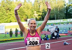 Marina Tomic of Slovenia during 19th European Athletics Classic Meeting Velenje 2014 on July 1, 2014 in Stadium Velenje, Slovenia. Photo By Vid Ponikvar / Sportida