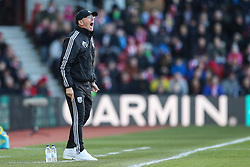 West Bromwich Albion Manager Tony Pulis shouts orders to his players from the sideline - Mandatory by-line: Jason Brown/JMP - 07966386802 - 16/01/2016 - FOOTBALL - Southampton, St Mary's Stadium - Southampton v West Bromwich Albion - Barclays Premier League