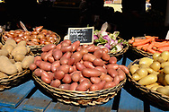 Potatoes for sale in a french market
