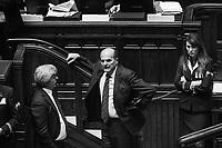 ROMA - 29 GENNAIO 2015: Prima votazione per l'elezione del 12esimo Presidente della Repubblica a Montecitorio, Roma, il 29 gennaio 2015