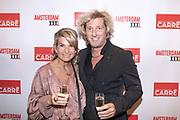 Koninklijk Theater Carre, Amsterdam. Lancering van de zevende editie van Amsterdam XXXl. Op de foto: Alice Zegerius en Michael Overdiek