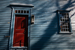 Colonial door, Newport, Rhode Island, United States of America