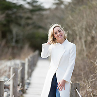 TV personality Kathryn Thomas pictured at Parknasilla, Ireland.<br /> Picture: Emma Jervis Photography