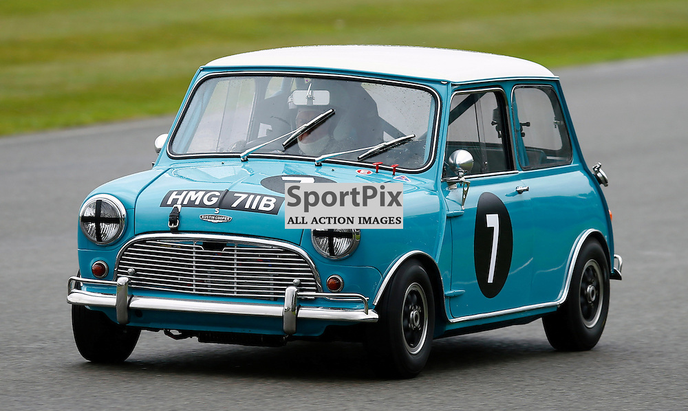 GOODWOOD REVIVAL....Rauno Aaltonen during qualifying for the weekend races...(c) STEPHEN LAWSON | SportPix.org.uk