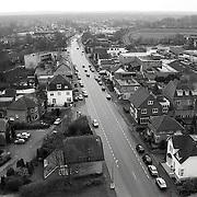 NLD/Soest/19920312 - Soest hoogte overzicht gezien vanaf de Oude Kerk