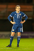 Frankie Brown (#17) (Bristol City) of Scotland during the Women's International Friendly match between Scotland Women and USA at the Simple Digital Arena, Paisley, Scotland on 13 November 2018.