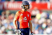 England T20 wicket keeper Jos Butler is out during the International T20 match between England and India at Old Trafford, Manchester, England on 3 July 2018. Picture by Simon Davies.