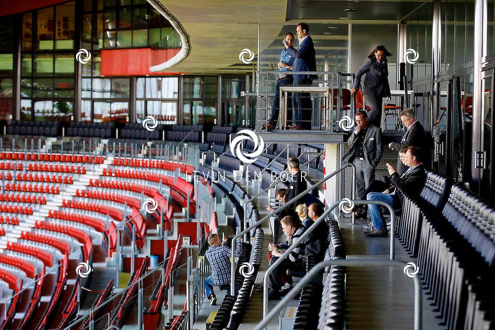 ALKMAAR - In het AZ Stadion is de NNP dag 2013 gehouden. Met op de foto een rondleiding door het AZ Stadion te Alkmaar. FOTO LEVIN DEN BOER - PERSFOTO.NU