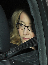 "© London News Pictures. 24/11/2011. London, UK.  Author Joanne ""Jo"" Rowling, OBE AKA J.K Rowlin leaving The Royal Courts of Justice today (24/11/2011) after giving evidence at the Leveson Inquiry into press standards. The inquiry is being lead by Lord Justice Leveson and is looking into the culture, and practice of the UK press. Photo credit : Ben Cawthra/LNP"