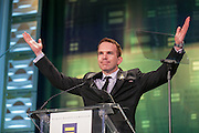 Human Rights Campaign's 2015 Greater New York Gala Dinner. on January 31, 2015. The Human Rights Campaign is America's largest civil rights organization working to achieve lesbian, gay, bisexual and transgender (LGBT) equality. HRC envisions a world where LGBT people are embraced as full members of society at home, at work and in every community. (Photo: www.JeffreyHolmes.com)