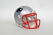 General overall view of New England Patriots helmet. The Philadelphia Eagles will play the Patriots in Super Bowl LII on Sunday, Feb. 4, 2018 in the 52nd meeting between the AFC and the NFC Champions.