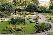 Garten Schloss Kochberg, Großkochberg, Thüringen, Deutschland   garden castle Kochberg, Großkochberg, Thuringia, Germany