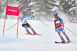 Super Combined and Super G, KUBACKA Marek Guide: ZATOVICOVA Maria, B1, SVK at the WPAS_2019 Alpine Skiing World Championships, Kranjska Gora, Slovenia