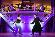 April 7, 2016, East Haddam, CT<br /> Mara Lavitt -- Special to the Hartford Courant<br /> The run-through of  the classic Cole Porter musical &quot;Anything Goes&quot; being performed at Goodspeed Musicals in East Haddam. Rashidra Scott as Reno Sweeney and Stephen DeRosa as Moonface Martin.