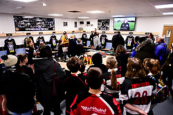 Super Saturday tour in the changing room prior to kick off - Mandatory by-line: Ryan Hiscott/JMP - 30/11/2019 - RUGBY - Sandy Park - Exeter, England - Exeter Chiefs v Wasps - Gallagher Premiership Rugby