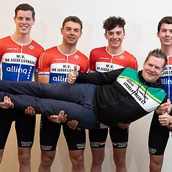 25-02-2020: Wielrennen: Teampresentatie IJsselstreek; Harderwijk