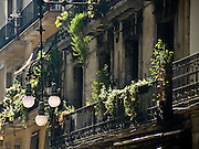 The Gothic Quarter in Barcelona, Catalony, Spain
