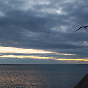 Today's Winter Sunrise  at Narragansett Town Beach, Narragansett, RI,  March  5, 2013.