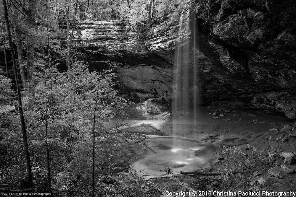 Ash Cave in the Hocking Hills March 2016. (Christina Paolucci, photographer).