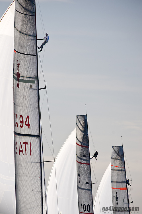 Trofeo Desafio Espagnol Valencia, regatta organized by the spanish challenger to fulfill the Deed of gift requirements