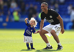 Leicester City's Youri Tielemans after the final whistle during the Premier League match at the King Power Stadium, Leicester.