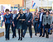 Queen Maxima opens Money Week, Vleuten 14-03-2016