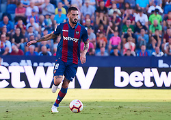 September 30, 2018 - Valencia, U.S. - VALENCIA, SPAIN - SEPTEMBER 30: Erick Cabaco, defender of Levante UD with the ball during the La Liga match between Levante UD and Deportivo Alaves at Estadio Ciutat de Valencia on September 30, 2018, in Valencia, Spain. (Photo by Carlos Sanchez Martinez/Icon Sportswire) (Credit Image: © Carlos Sanchez Martinez/Icon SMI via ZUMA Press)