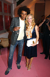Actress NATALIE PRESS and MATTHEW GARDNER at a dinner hosted by Harpers Bazaar to celebrate the launch of the fragrance Flowerbomb by Viktor & Rolf held at Elms lester, Flitcroft Street, London WC2 on 31st May 2006.<br /><br />NON EXCLUSIVE - WORLD RIGHTS