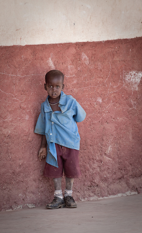 Local school, Samburu