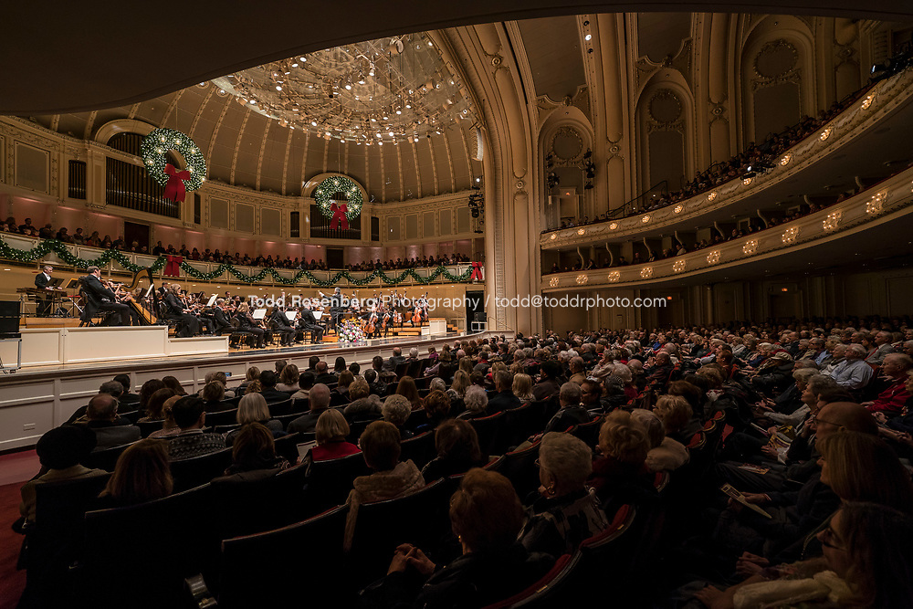 12/30/17 2:35:22 PM -- Chicago, IL, USA<br /> Attila Glatz Concert Productions' &quot;A Salute to Vienna&quot; at Orchestra Hall in Symphony Center. Featuring the Chicago Philharmonic <br /> <br /> &copy; Todd Rosenberg Photography 2017