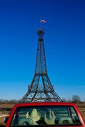 Eiffel Tower sculpture in Paris, Texas