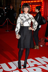 Dawn Porter attends The World Premiere of \'Cuban Fury\'. Leicester Square, London, United Kingdom. Thursday, 6th February 2014. Picture by Chris Joseph / i-Images