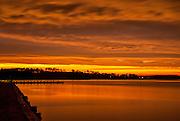 Sunset After The Storm- Little Assawoman Bay, Treasure Beach, Fenwick Island, DE.