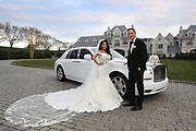 Angelina Pivarnick and Chris Larangeira Wedding, Park Château Estate & Gardens, East Brunswick, Nw Jersey.(Photo by Bennett Raglin for MTV)