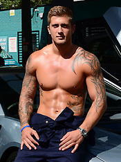 AUG 13 2014 The Dreamboys and Dan Osborne Balls to Cancer photocall
