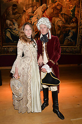 MATTHEW BELL and FLORENCE KEITH-ROACH at the Tatler & Christie's Art Ball held at Christie's, 7-15 Ryder Street, London on 12th June 2014.