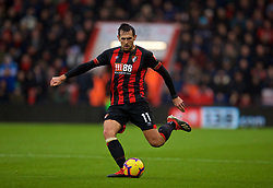 BOURNEMOUTH, ENGLAND - Saturday, December 8, 2018: AFC Bournemouth's Charlie Daniels during the FA Premier League match between AFC Bournemouth and Liverpool FC at the Vitality Stadium. (Pic by David Rawcliffe/Propaganda)