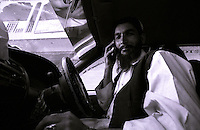 Khost, a local taxi drivier speaking over the phone