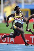 ATHLETICS - IAAF WORLD CHAMPIONSHIPS 2011 - DAEGU (KOR) - DAY 2 - 28/08/2011 - WOMEN 100M - KERRON STEWART (JAM) - PHOTO : FRANCK FAUGERE / KMSP / DPPI