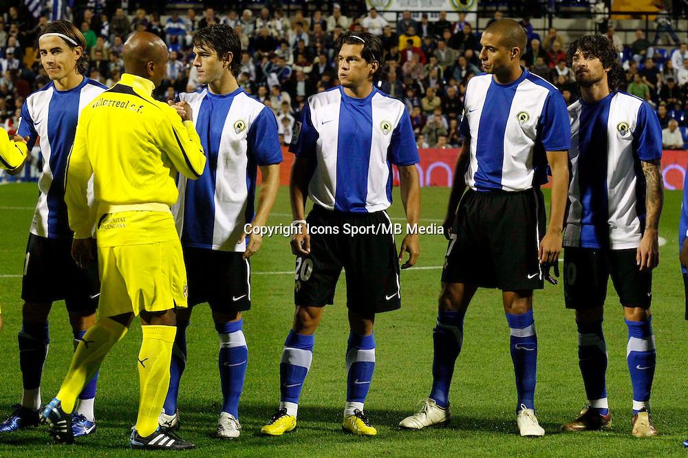 David Trezeguet - 18.10.2010 - Hercules Alicante / Villarreal - Liga 2010/2011 - Photo : Manuel Lorenzo / Alfaqui / Icon Sport