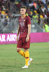 July 20, 2018 - Frosinone, Lazio, Italy - Patrik Schick during the Pre-Season Friendly match between AS Roma and Avellino at Stadio Benito Stirpe on July 20, 2018 in Frosinone, Italy. (Credit Image: © Silvia Lore/NurPhoto via ZUMA Press)